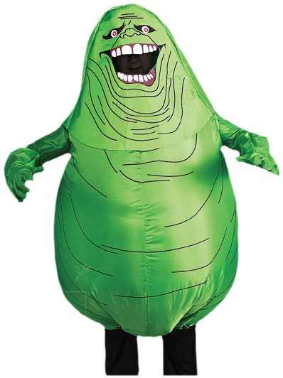 Ghostbusters Inflatable Slimer Adult Costume