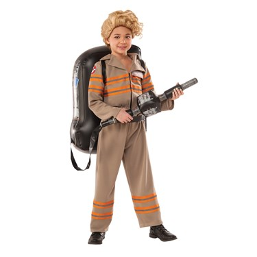 Ghostbusters Movie: Ghostbuster Female Deluxe Child Costume