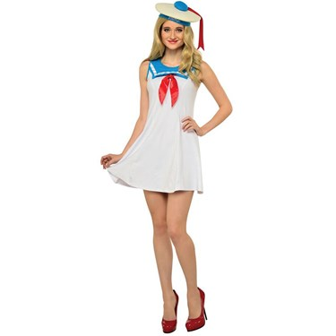 Ghostbusters Stay Puft Flair Adult Dress
