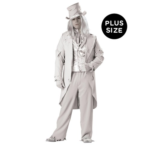 Ghostly Gent Elite Collection Adult Plus Costume
