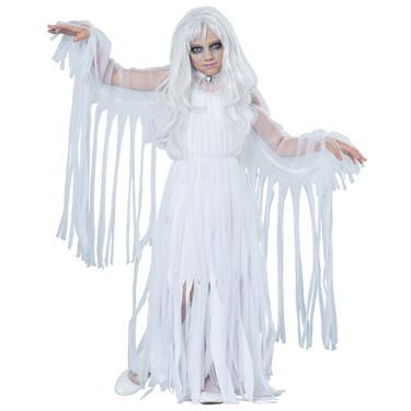 Ghostly Girl Child Costume