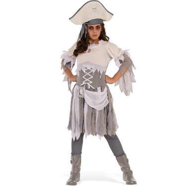 Ghostly Pirate Girls Child Costume