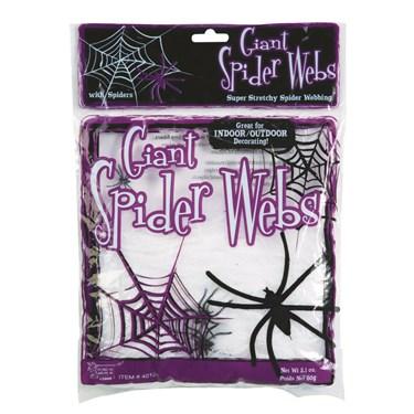 Giant Spider Webs-White 2Oz