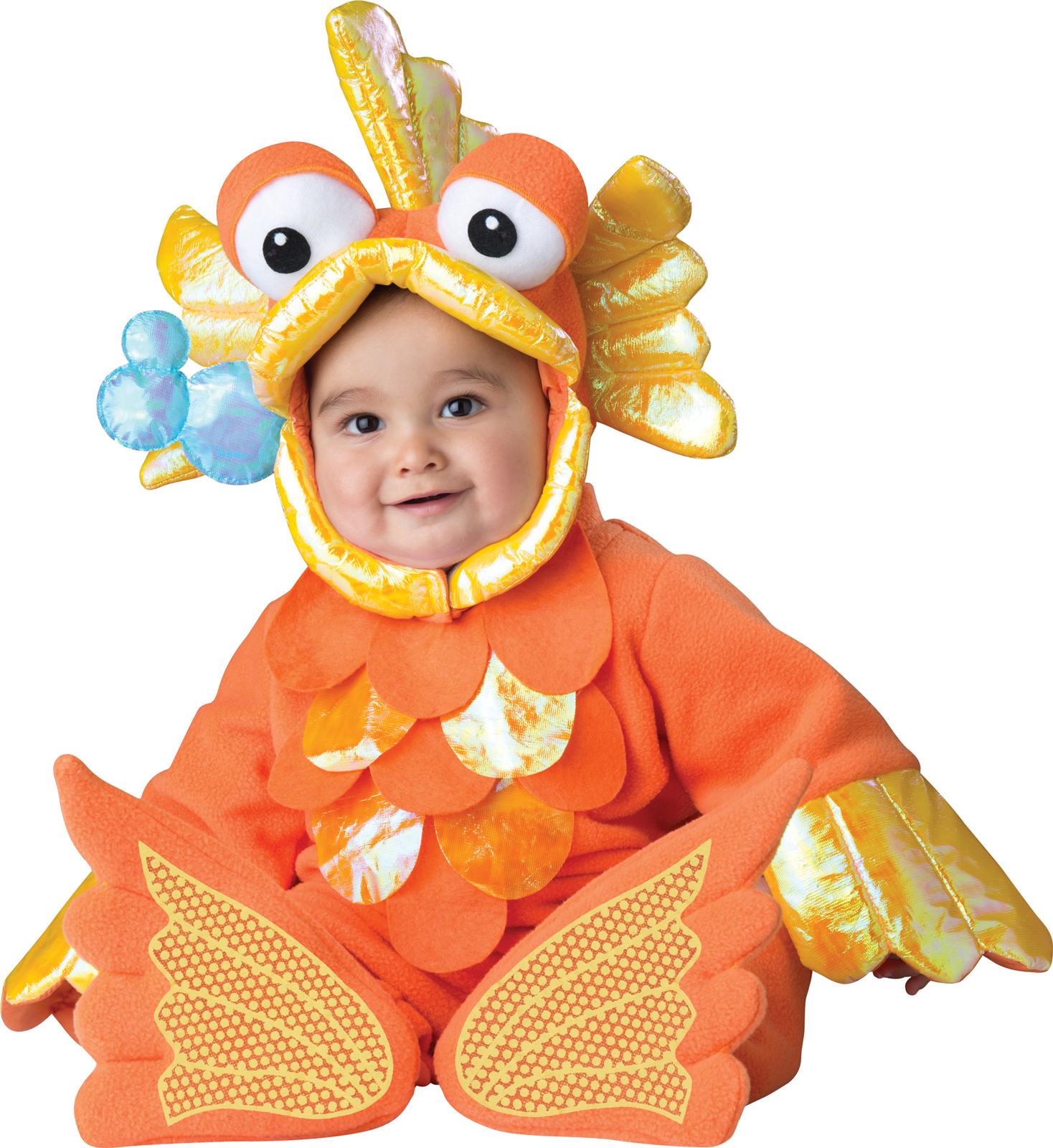 giggly goldfish costume for babies