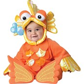 Giggly Toddler Goldfish Costume