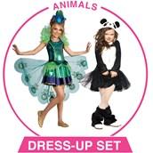 Girls Animals Dress-up Set