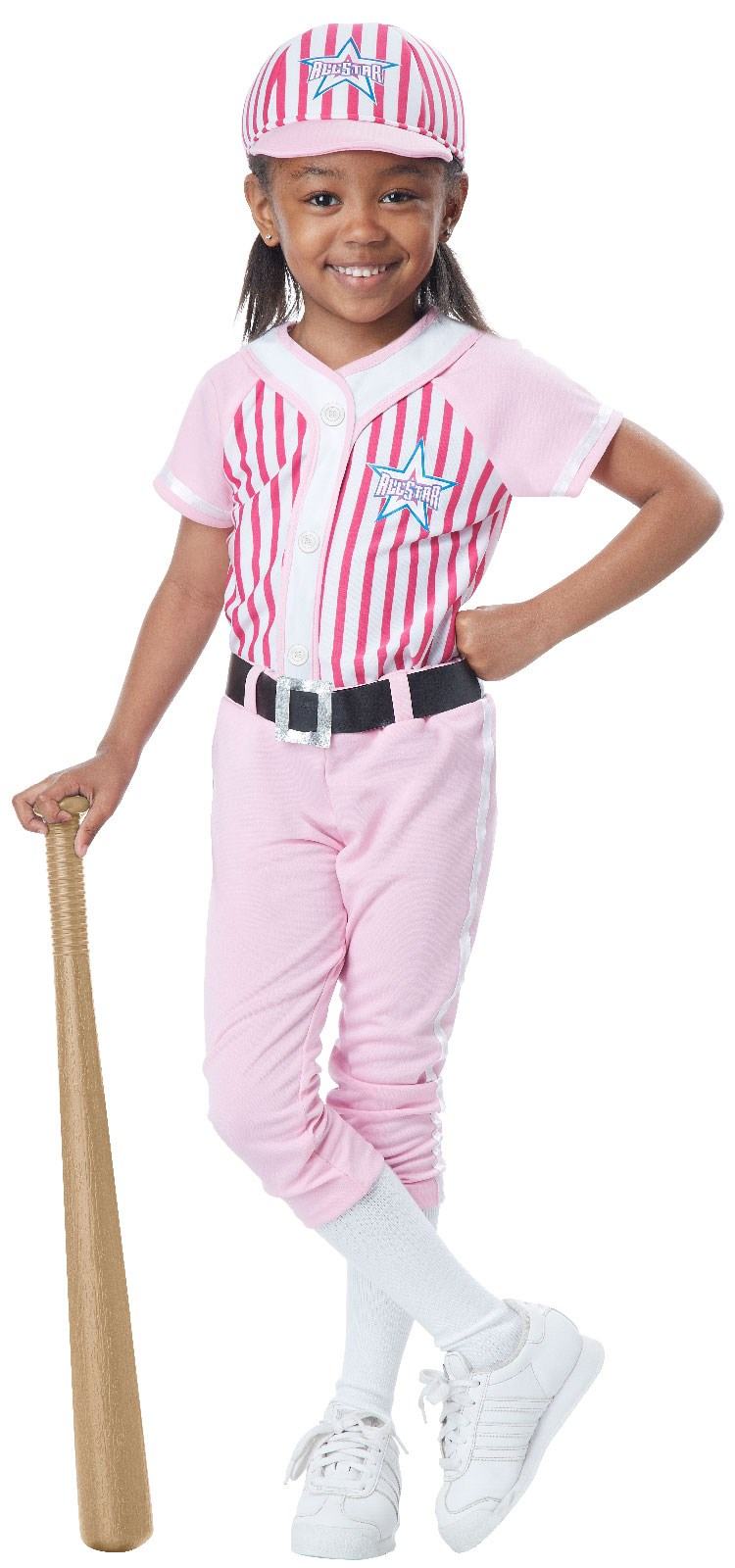Girls Baseball Player Costume