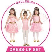 Girls Dance/Ballerina Dress-up Set