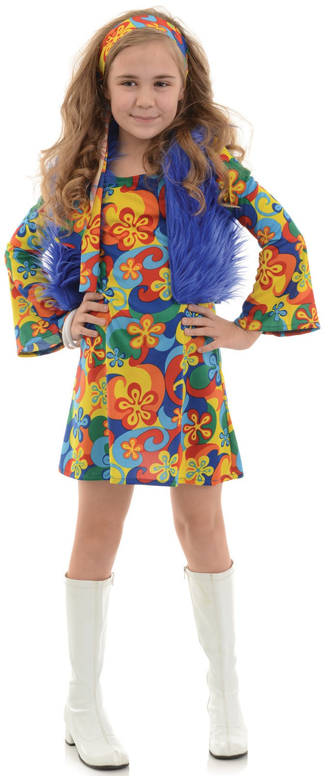 Girls Far Out Disco Costume