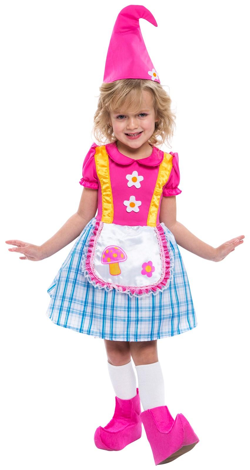 Girls Gnome Costume