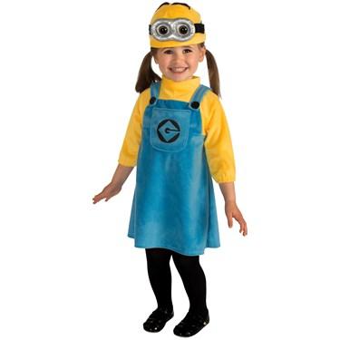 Girls Minion Infant Costume