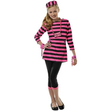Girls Miss Dee Meaner Costume