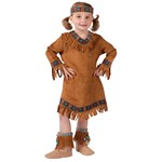 Girls Native American Toddler Costume