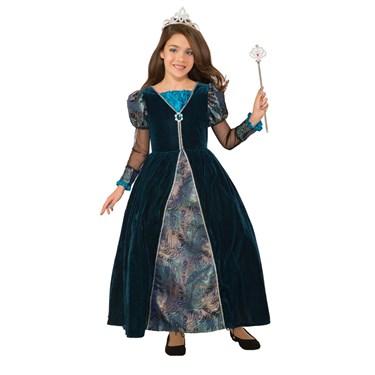 Girls Peacock Princess Costume