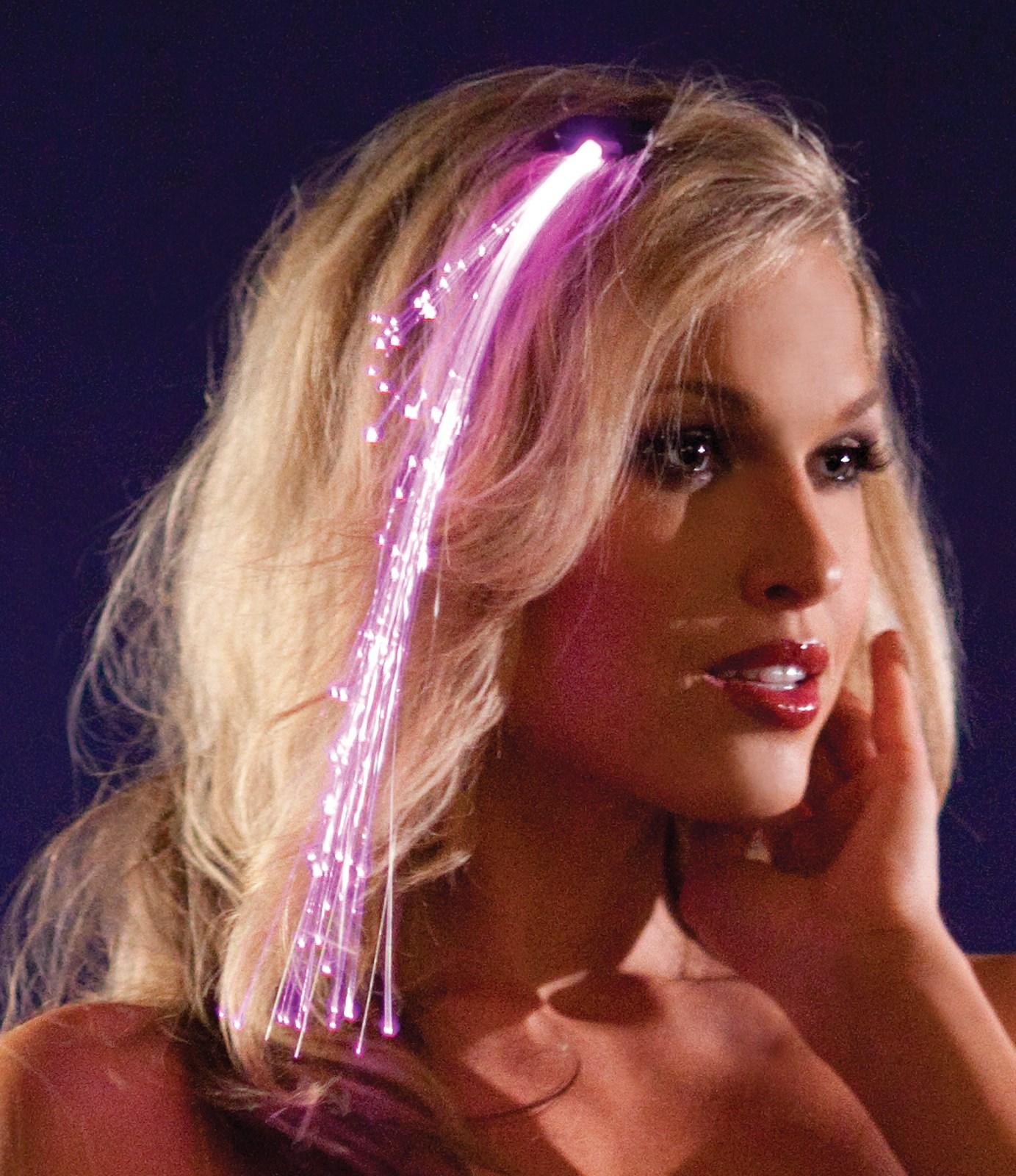 Girls Pink Light Up Hairclip