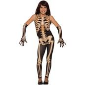 Girls Pretty Bones Costume