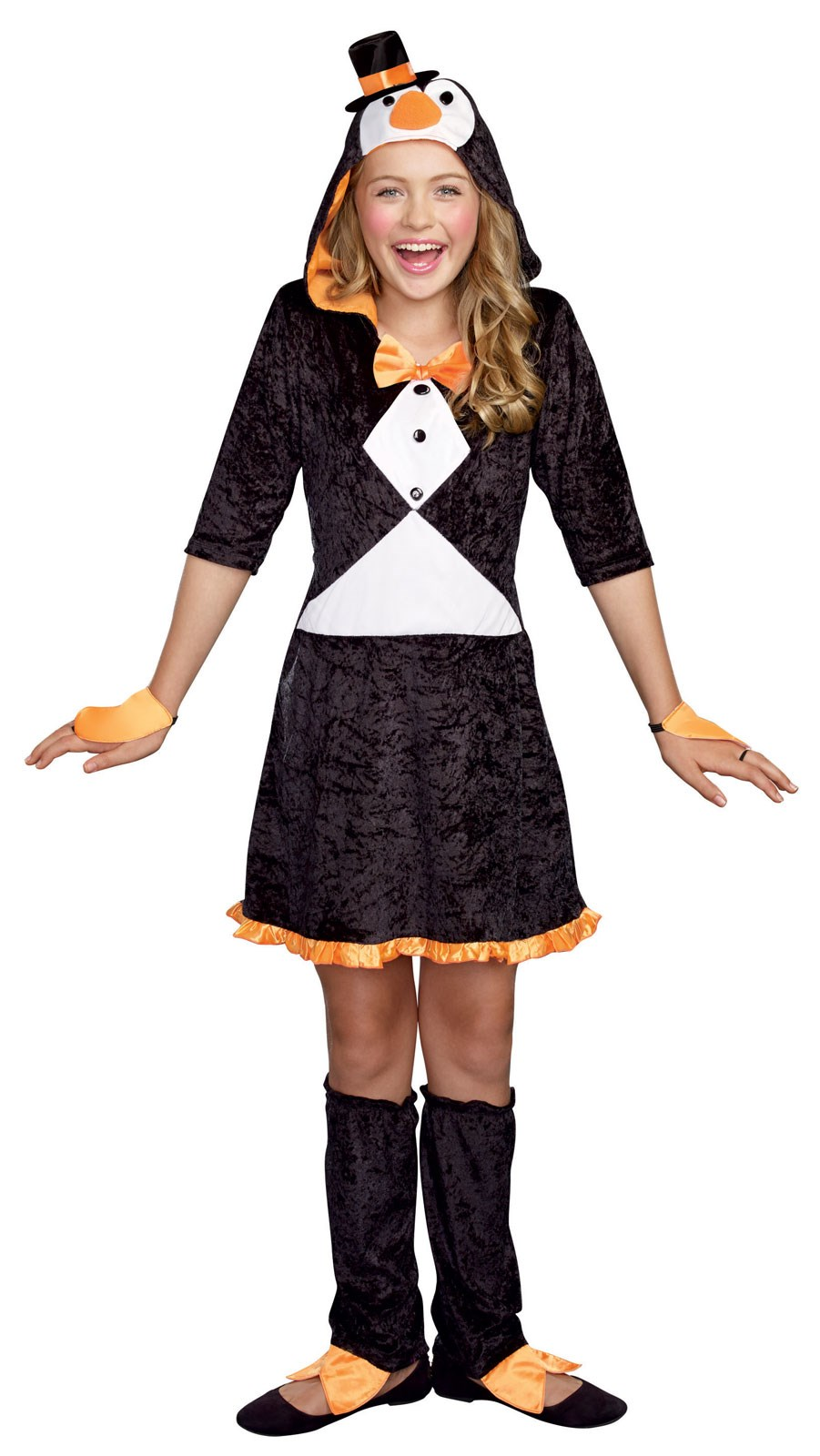 Girls Pretty Lil Penguin Costume