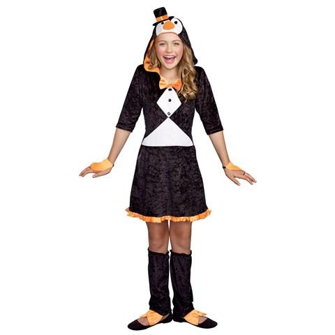 Girls Pretty Lil' Penguin Costume
