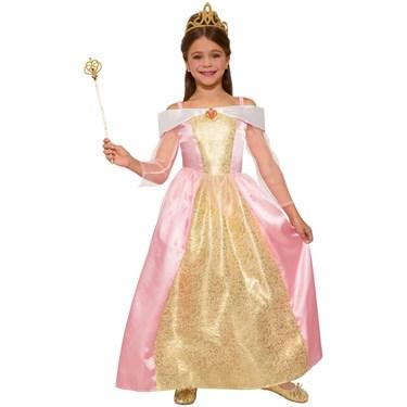 Girls Princess Paisley Rose Costume