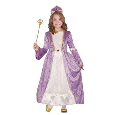 Girls Princess Peyton Purple Costume