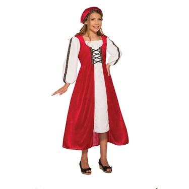 Girls  Renaissance Faire Girl Costume