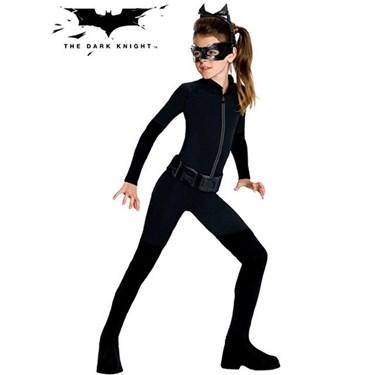 Girls Tween Catwoman Costume