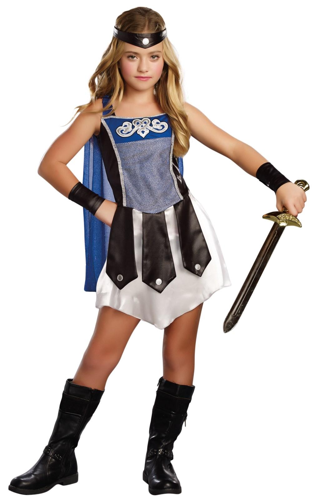 Gladiator Girl Costume For Kids