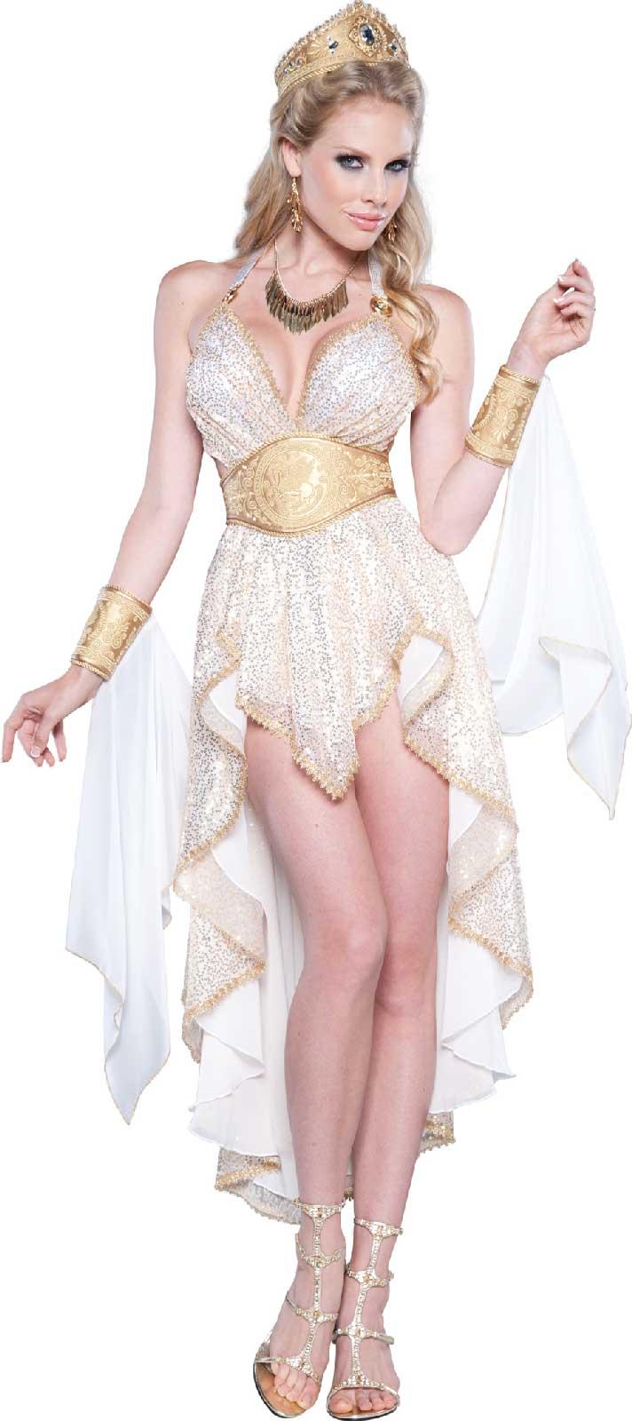 Glamorous Goddess Womens Dress Costume Buycostumes