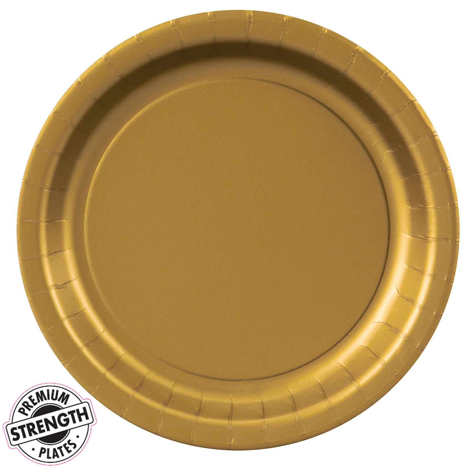 glittering gold gold dessert plates 24 count. Black Bedroom Furniture Sets. Home Design Ideas