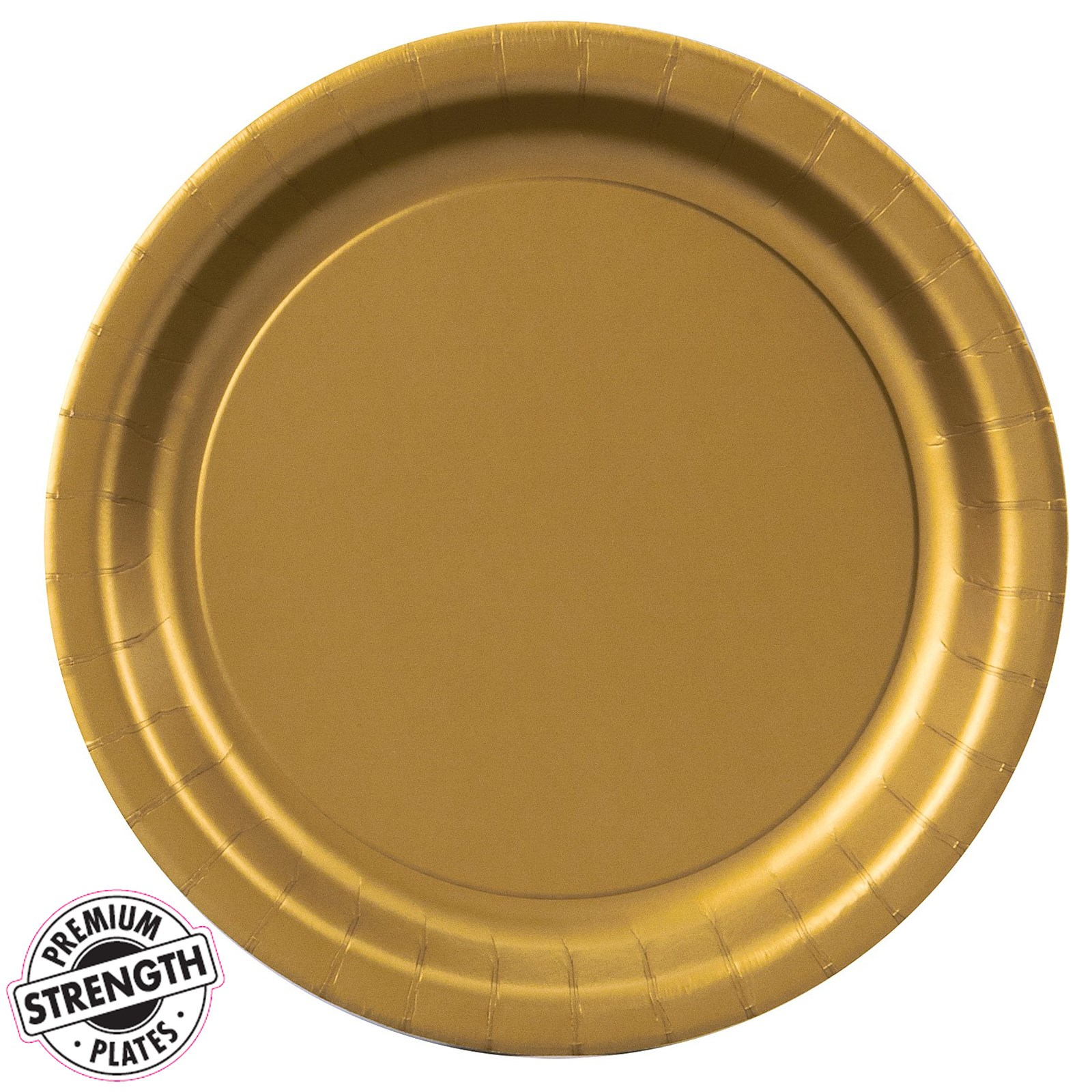 glittering gold gold dinner plates 24 count. Black Bedroom Furniture Sets. Home Design Ideas