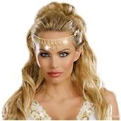 Glittering Rhinestone Costume Headpiece