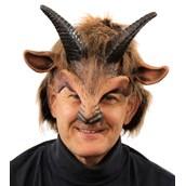 Goat Boy Half Mask w/ Horns