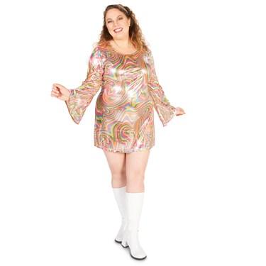 Gogo Girl Adult Plus Costume