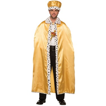 Gold Adult King Crown