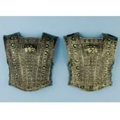 Gold Roman Chest Plate (2 Piece)