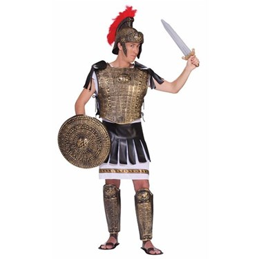 Gold Roman Solider Costume Set for Men