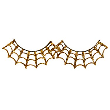 Gold Spiderweb Eyelashes