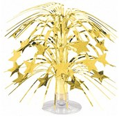 Gold Star Mini Cascade Centerpiece
