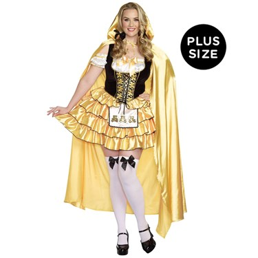 Goldilocks Plus Size Adult Costume