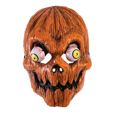 Google Eye Pumpkin Mask