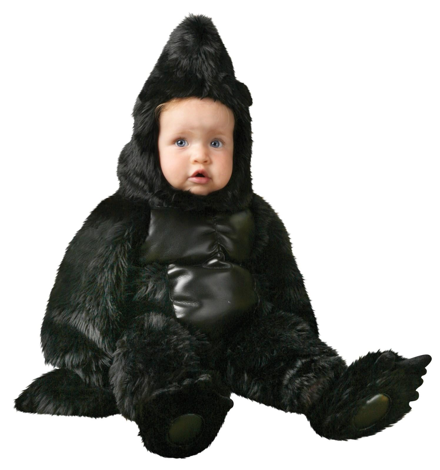 Gorilla Deluxe Toddler Costume | BuyCostumes.com