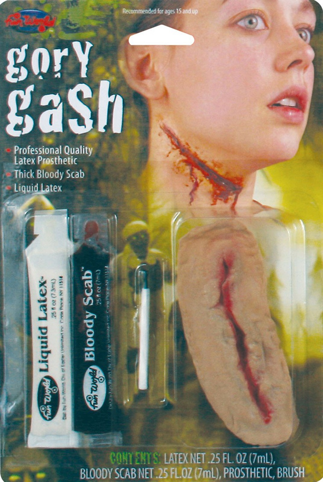 Gory Gash Makeup Kit