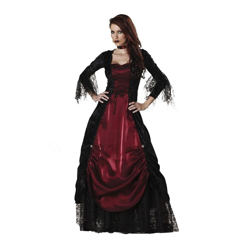 gothic vampira elite collection adult costume. Black Bedroom Furniture Sets. Home Design Ideas