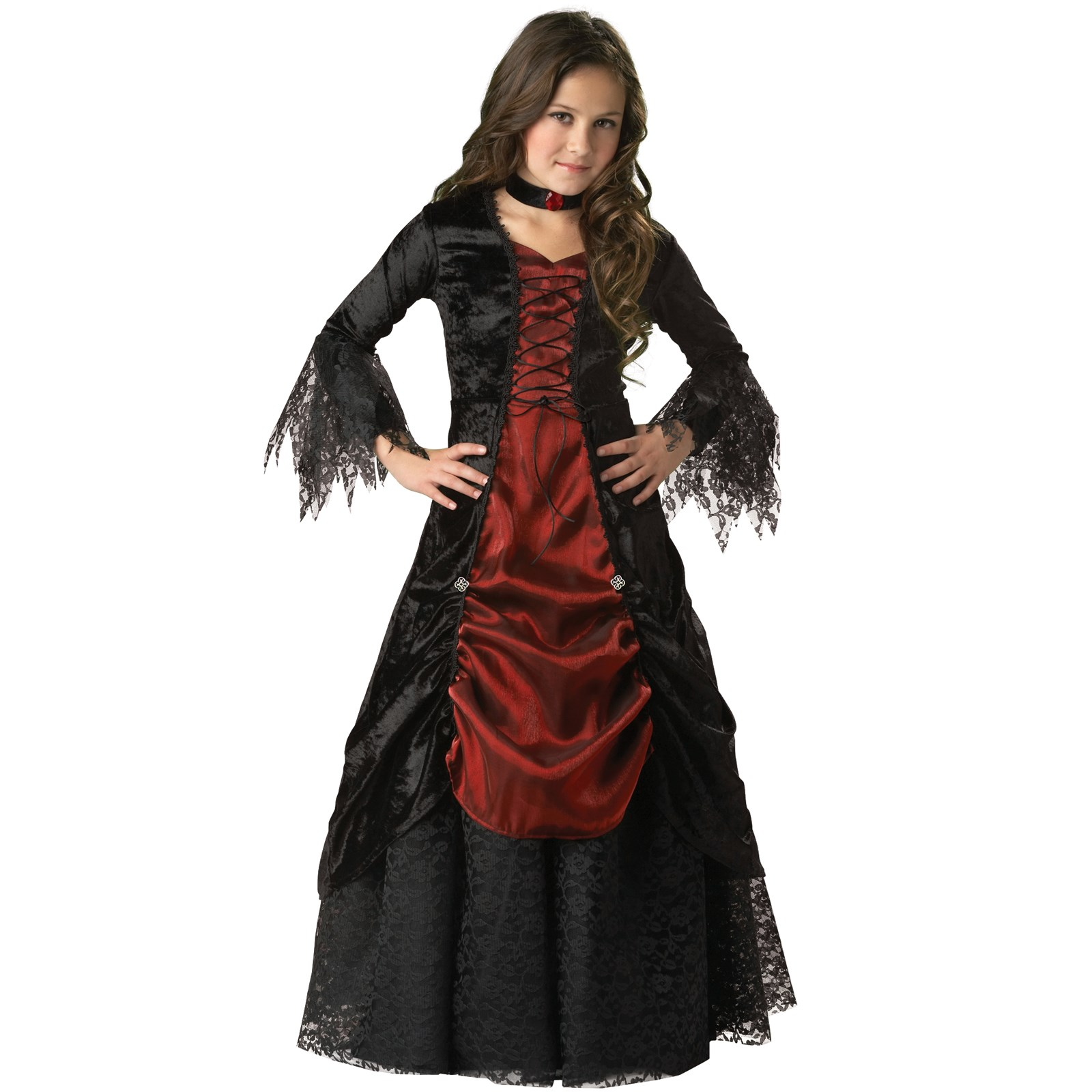 Gothic vampira elite collection child costume buycostumes com