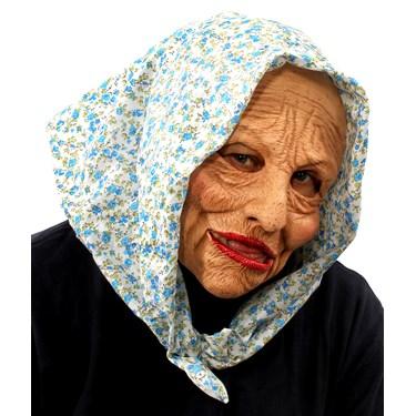 Grand Ma Mask w/ Head Scarf