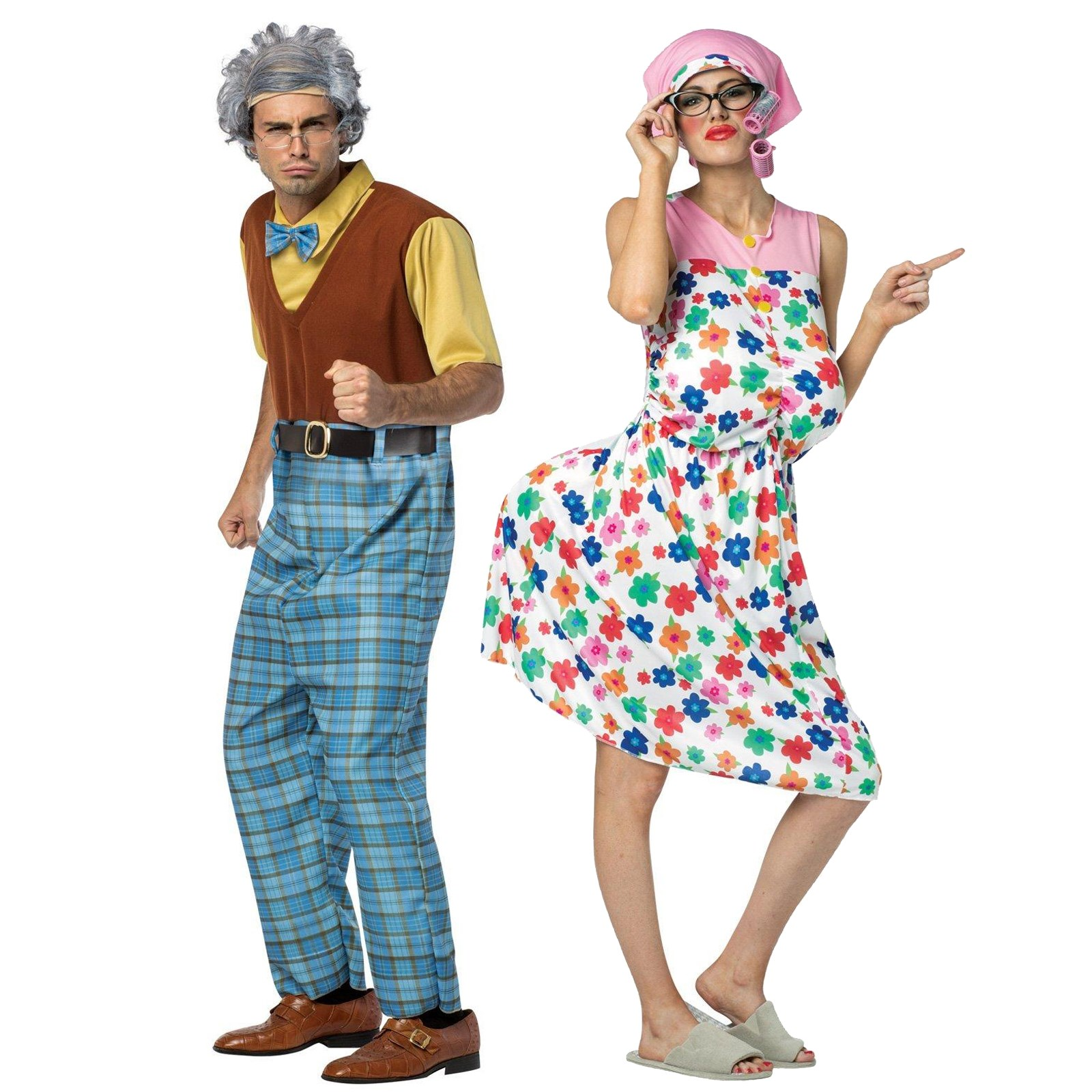 Grandma & Grandpa Adult Couples Costume