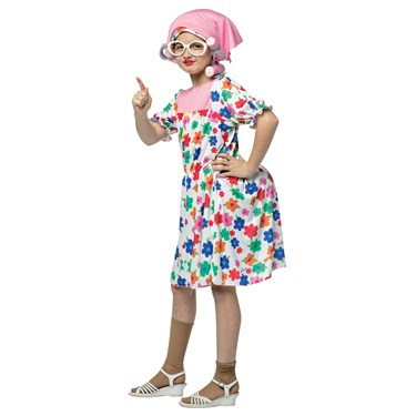 Granny Costume For Kids
