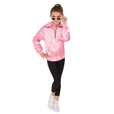 Grease Girls Pink Ladies Jacket