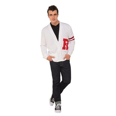 Grease Mens Deluxe Rydell High Sweater