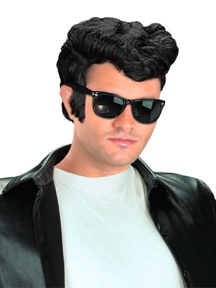 Greaser Wig Black $9.99 AT vintagedancer.com